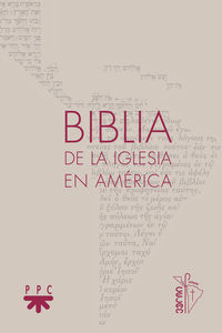 BIBLIA DE LA IGLESIA EN AMERICA (RUSTICA)
