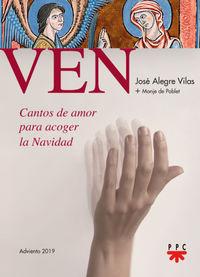 VEN - CANTOS DE AMOR PARA ACOGER LA NAVIDAD