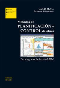 METODOS DE PLANIFICACION Y CONTROL DE OBRAS