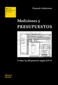 Mediciones Y Presupuestos (2010)  - Actualizada Y Aumentada - Fernando Valderrama