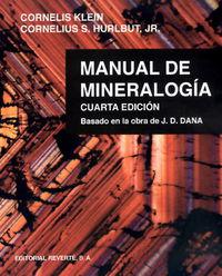 MANUAL DE MINERALOGIA 1 - BASADO EN LA OBRA DE J. D. DANA