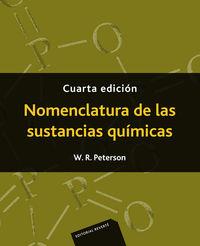 (4 ED) NOMENCLATURA DE LAS SUSTANCIAS QUIMICAS