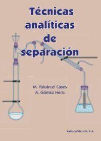 TECNICAS ANALITICAS DE SEPARACION