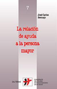 RELACION DE AYUDA A LA PERSONA MAYOR, LA