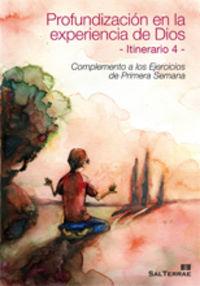 Profundizacion En La Experiencia De Dios - Aa. Vv.