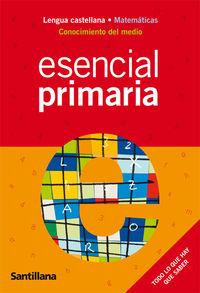 Resultado de imagen de esencial primaria santillana pdf