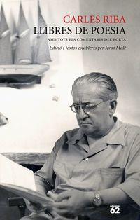 Llibres De Poesia - Carles Riba