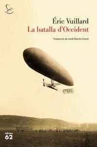 La batalla d'occident - Eric Vuillard
