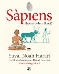 SAPIENS 2 - ELS PILARS DE LA CIVILITZACIO (NOVELLA GRAFICA)