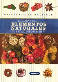 DECORAR CON ELEMENTOS NATURALES