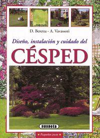 CESPED - DISEÑO, INSTALACION Y CUIDADO