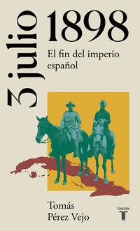 3 DE JULIO DE 1898 - EL FIN DEL IMPERIO ESPAÑOL
