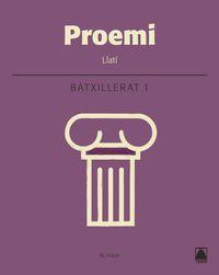 batx 1 - llati (cat) - proemi - Aa. Vv.