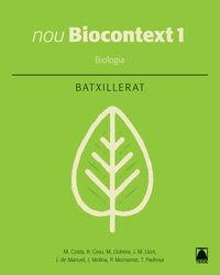 BATX 1 - BIOLOGIA (CAT) - NOU BIOCONTEXT
