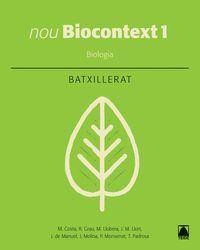 BATX 1 - BIOLOGIA - NOU BIOCONTEXT