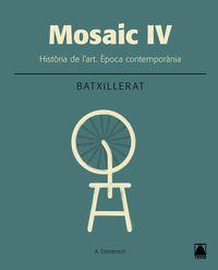 batx 2 - historia de l'art (cat) - mosaic iv - Aa. Vv.
