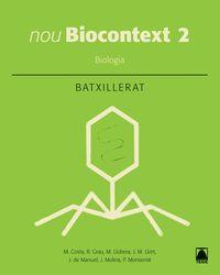 Batx 2 - Biologia - Biocontext (cat) - Aa. Vv.