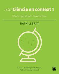 BATX 1 - CIENCIA EN CONTEXT
