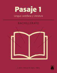 BACH 1 - LITERATURA - PASAJE