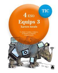 ESO 4 - INFORMATICA (CAT) - EQUIPS TIC 3