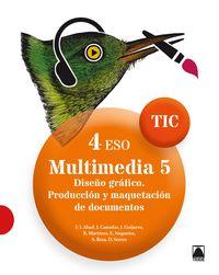 Eso 4 - Multimedia 5 Tic - Aa. Vv.