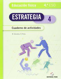 ESO 4 - EDUC. FISICA CUAD - ESTRATEGIA