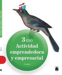 Eso 3 - Actividad Emprendedora Y Empresarial - Joan Canudas Asensio