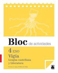 Eso 4 - Lengua Y Literatura Cuad - Vigia - Merce Arce Lasso / Lope Lopez Susarte