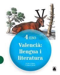 eso 4 - llengua i literatura (c. val) - Aa. Vv.