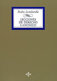 LECCIONES DE DERECHO CANONICO