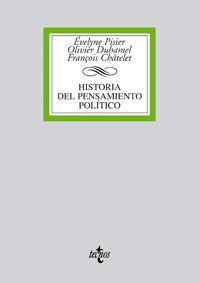 Historia Del Pensamiento Politico - Evelyne Pisier