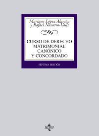 CURSO DE DERECHO MATRIMONIAL CANONICO Y CONCORDADO (7 ED)