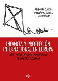 INFANCIA Y PROTECCION INTERNACIONAL EN EUROPA - NIÑOS Y NIÑAS REFUGIADOS Y BENEFICIARIOS DE PROTECCION SUBSIDIARIA