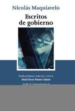 Escritos De Gobierno - Nicolás Maquiavelo