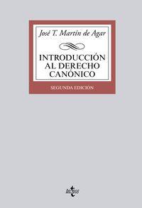 INTRODUCCION AL DERECHO CANONICO