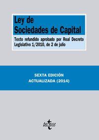 (6ª ED. )  LEY DE SOCIEDADES DE CAPITAL