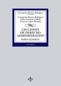 LECCIONES DE DERECHO ADMINISTRATIVO - PARTE GENERAL I