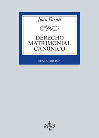 (6ª ED. )  DERECHO MATRIMONIAL CANONICO