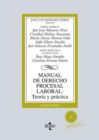 (4ª ED. )  MANUAL DE DERECHO PROCESAL LABORAL - TEORIA Y PRACTICA
