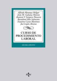 (10ª ED. )  CURSO DE PROCEDIMIENTO LABORAL
