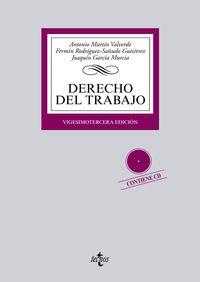 (23ª ED. )  DERECHO DEL TRABAJO (+CD)