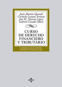 (25ª ED. )  CURSO DE DERECHO FINANCIERO Y TRIBUTARIO