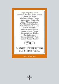 (5ª ED. )  MANUAL DE DERECHO CONSTITUCIONAL