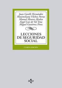 (4ª ED. )  LECCIONES DE SEGURIDAD SOCIAL