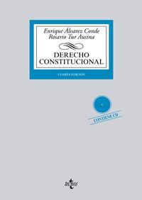 (4ª ED. )  DERECHO CONSTITUCIONAL (+CD)