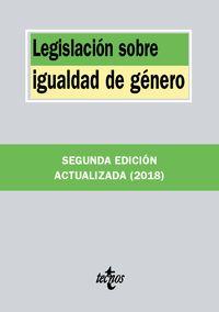 (2 ED) LEGISLACION SOBRE IGUALDAD DE GENERO