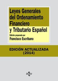 (8ª ED. )  LEYES GENERALES DEL ORDENAMIENTO FINANCIERO Y TRIBUTARIO ESPAÑOL