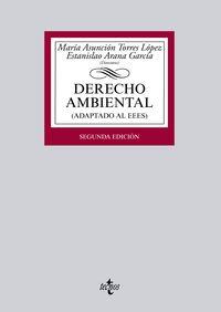(2ª Ed)  Derecho Ambiental (adaptado Al Eees) - Maria Asuncion  Torres Lopez  /  [ET AL. ]