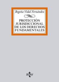 Proteccion Jurisdiccional De Los Derechos Fundamentales - Begoña Vidal Fernandez