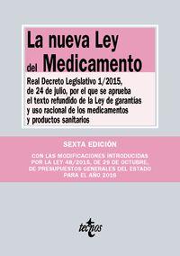 La nueva ley del medicamento - Aa. Vv.